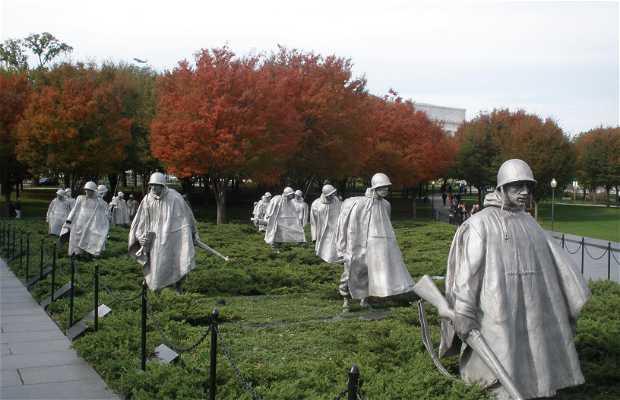 Le mémorial de la guerre de vietnam
