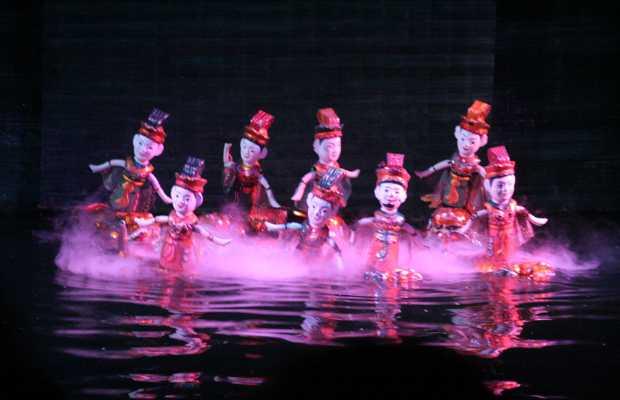 Marionette in acqua