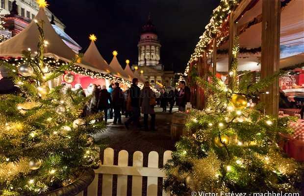 Mercadillo navideño de Gendarmenmarkt