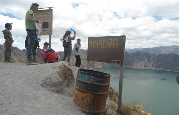 Mirador de la Laguna Quilotoa