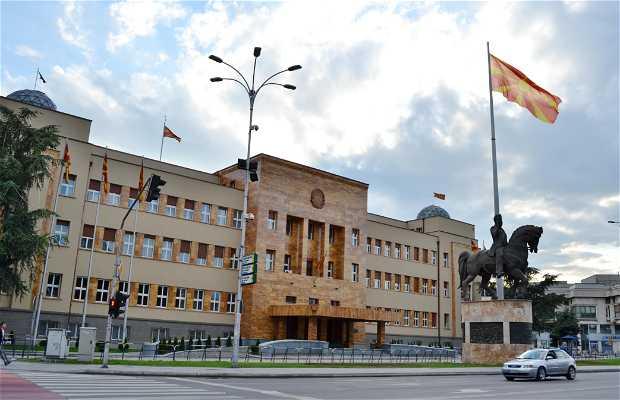 Parlamento macedone a skopje 1 opinioni e 4 foto for Sede del parlamento