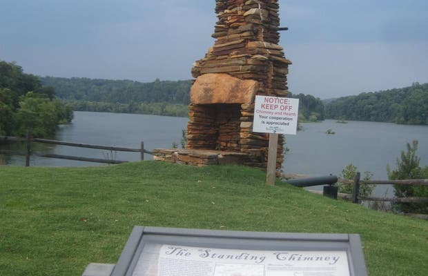 The standig chimney