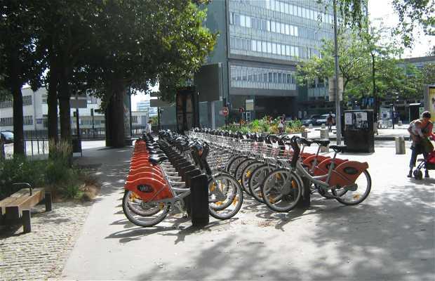 Système vélos Bicloo à louer