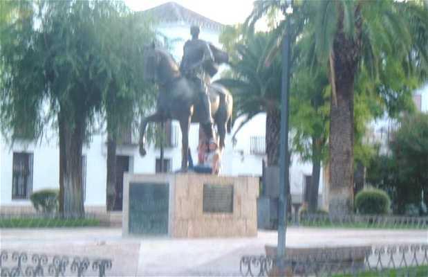 Monumento Ecuestre de Diego de Almagro