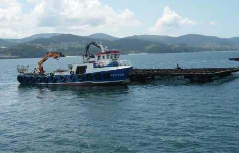 Excursion en barque par la rivière d'Arousa