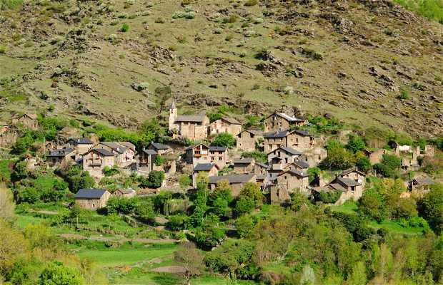 Pueblo románico de Baiasca