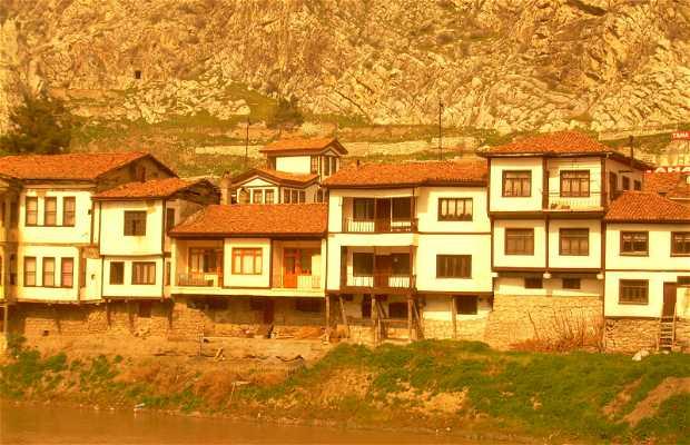 Casas otomanas de Amasya