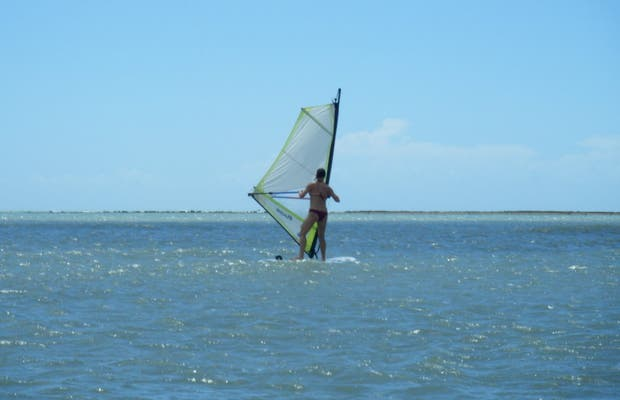 Windsurf em Gostoso