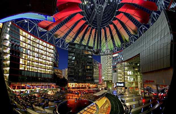 Il centro Sony di Berlino