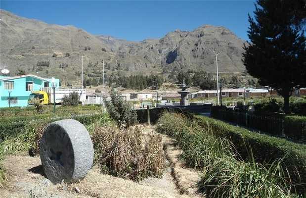 Plaza de Armas de Maca