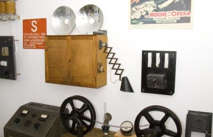 Museum collection of Old Film Projectors