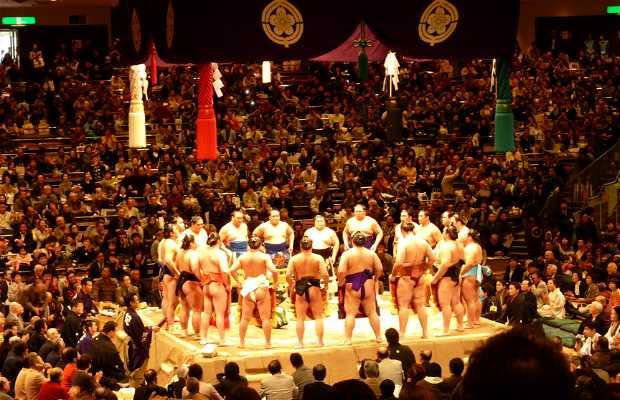 Japan Sumo great tournament
