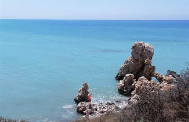 Aphrodita´s beach of Petra tou Romiou
