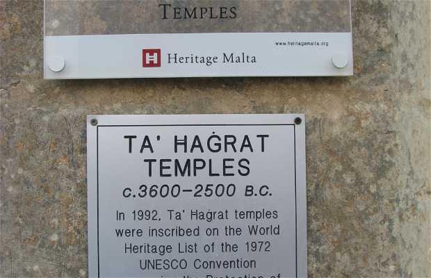 Templos megalíticos de Ta' Ħaġrat