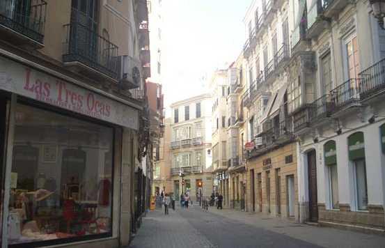 Calle Comedias a Malaga