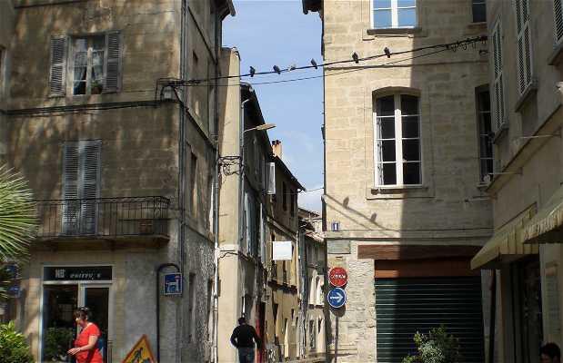 Piazza Saint Pierre ad Avignone