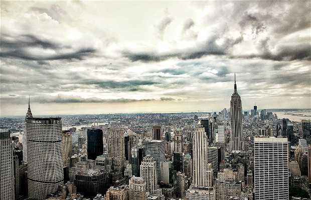 New York vista do alto
