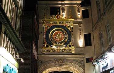 El Gran Reloj de Rouen - Le Gros-Horloge