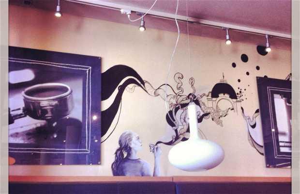 Cafe ritazza Copenhague
