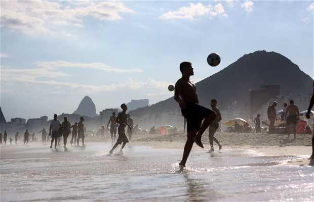 Altinha en Copacabana