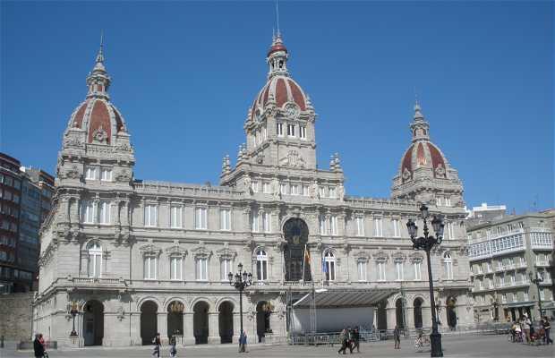 Hôtel de ville - Palais Maria Pita