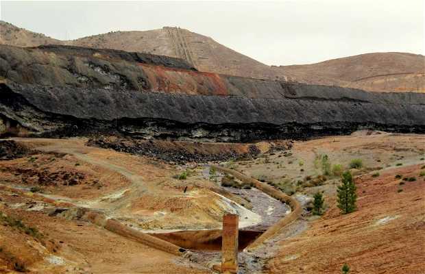 Excursión en el Ferrocarril Turístico Minero de Riotinto