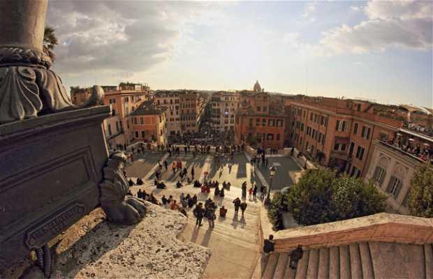 Praça de Espanha - Piazza di Spagna