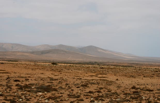 Vistas desde Piedra de la Playa, La Oliva, España