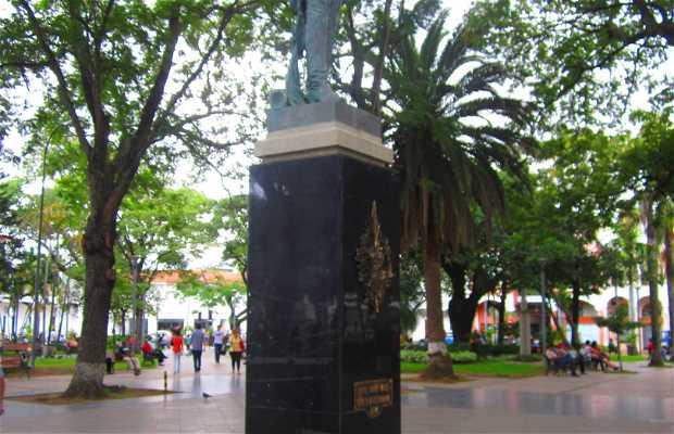 Statue du colonel Ignacio Warnes