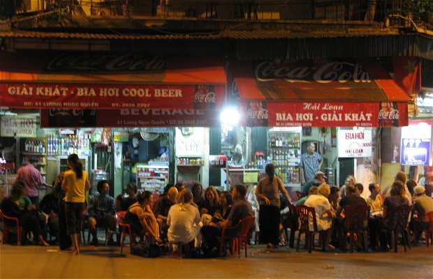 Ambiente nocturno en Hanoi