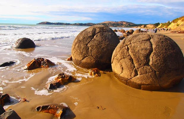 I massi (boulders) di Moeraki