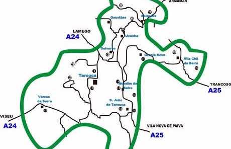 Rota das Vinhas de Cister - Ruta de los Viñedos del Cister