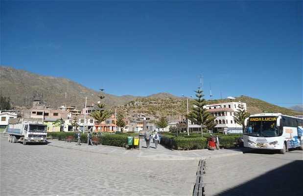 Plaza de Cabanaconde