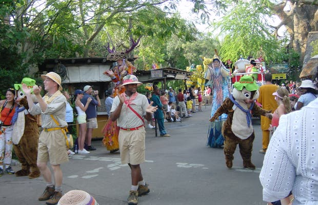 Mickey's Jammin' Jungle parade (Animal Kingdom)