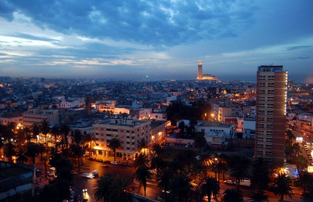 Vista de Casablanca