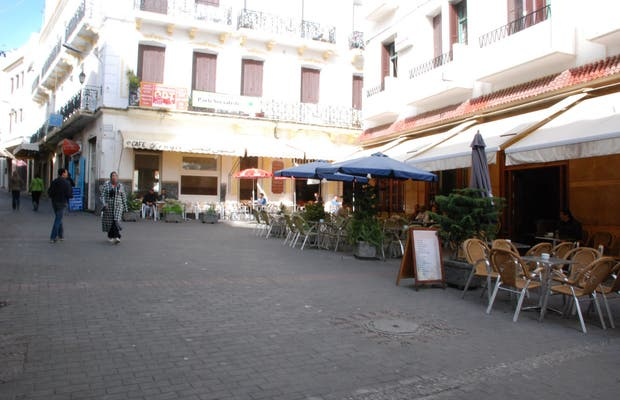 Caffé Centrale a Tangeri