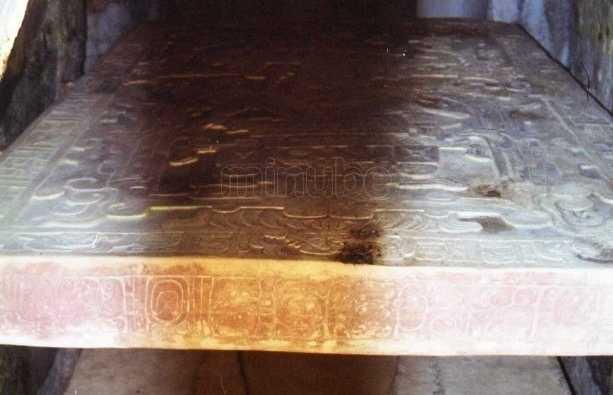 Templo inscripciones de palenque