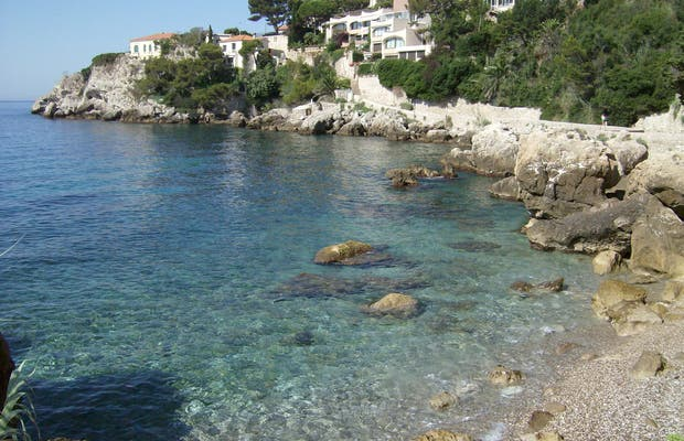 Cap d'Ail beach