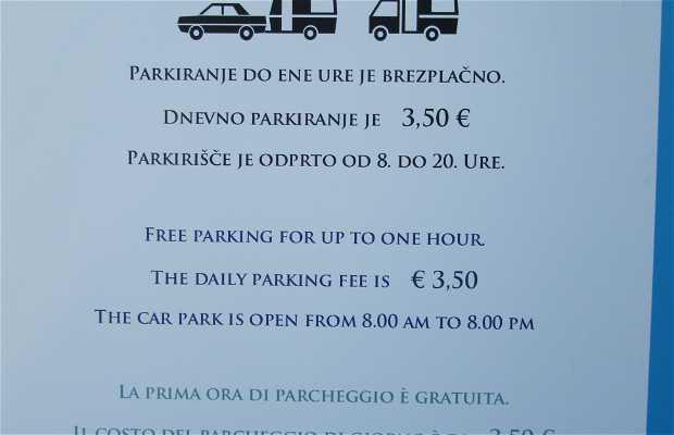 Parking de autocaravanas en Postojna