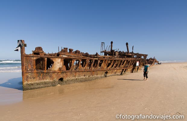 Maheno - Barco naufragado
