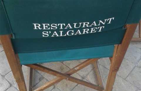Restaurante s ' algaret en Fornells