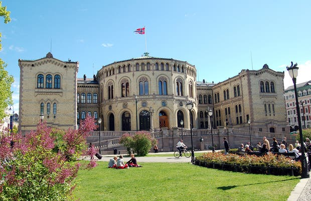 Parliament of Oslo-Stortinent