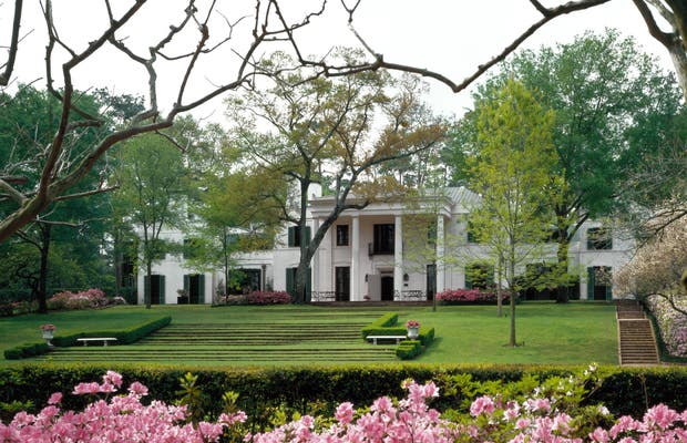 Jardins e coleção de Bayou Bend