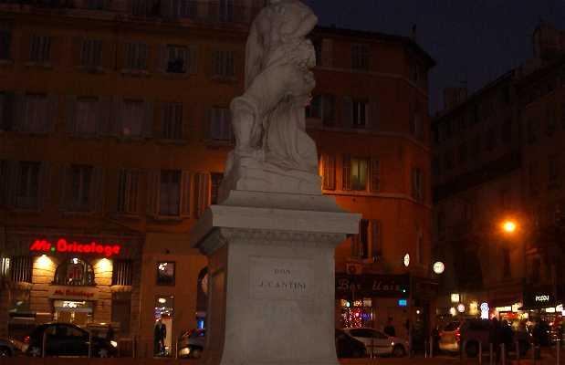 Estatua de Milon de Crotone