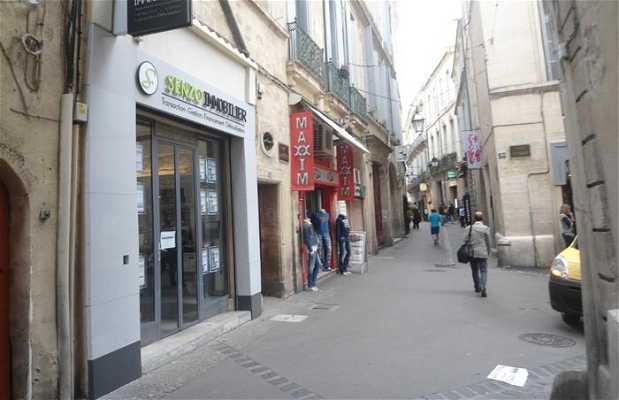 La rue de l'Aiguillerie
