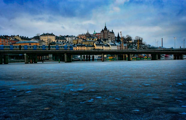 Gamla Stan - a velha cidade de Estocolmo