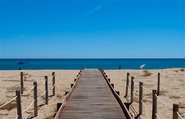 Playa marina de Orosei