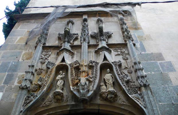 El edificio más antiguo de Palamos