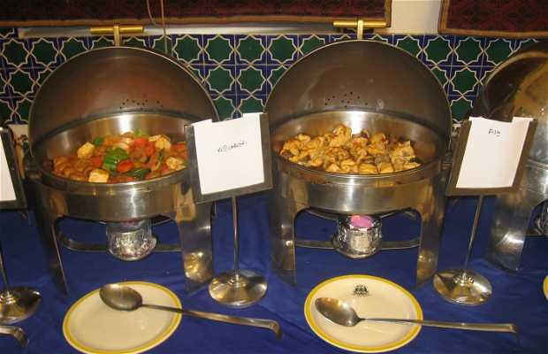 Restaurante del hotel bundelkhand riverside