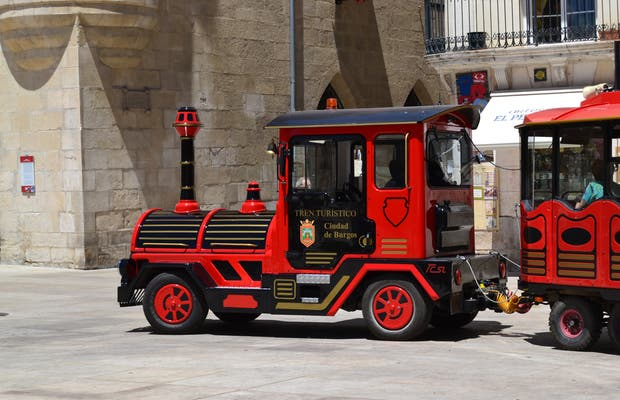 Tren turístico (chuchutrén) de Burgos